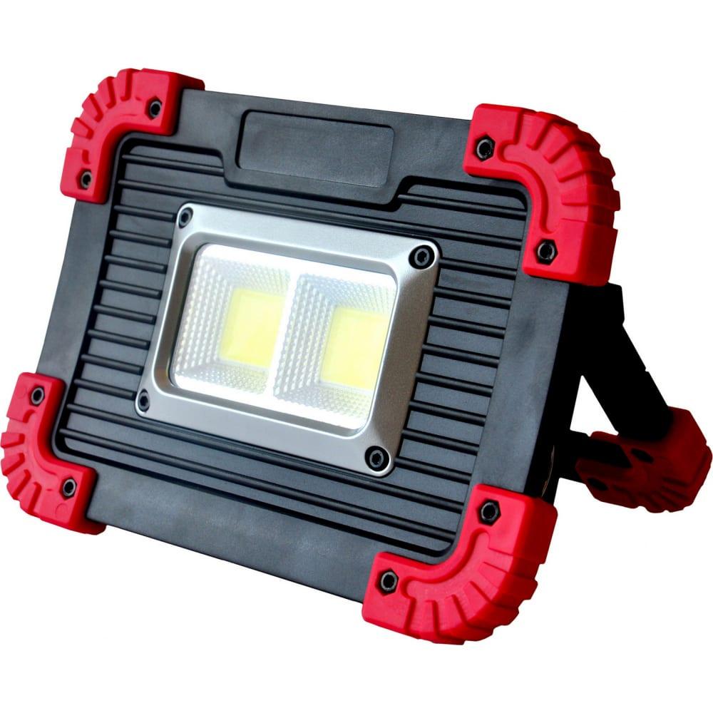 Купить Аккумуляторный прожекторный фонарь ritter 10w cob+1w led, 3000мач, 750лм+70лм, ip65, 29131 2