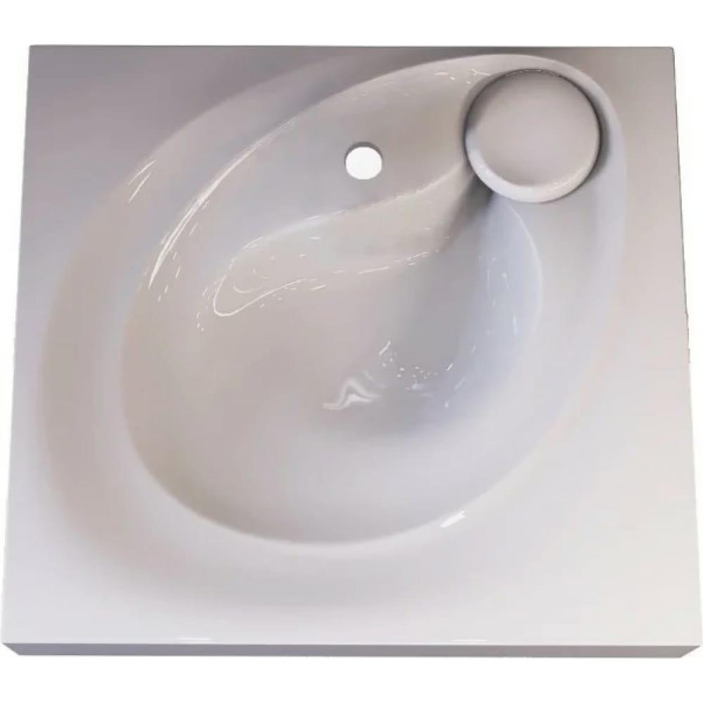 Купить Раковина raval над стиральной машиной perla 60х55 белая per.08.60/w