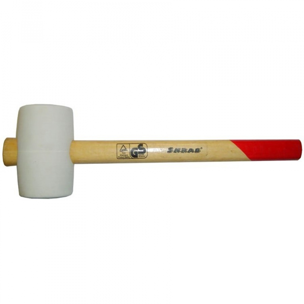 Киянка skrab 55 мм, деревянная ручка 20107
