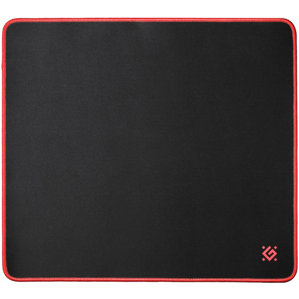 Игровой коврик defender black, xxl, 400x355x3мм, ткань+резина 50559