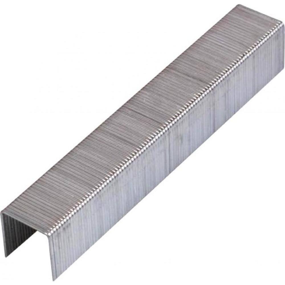 Скобы плоские (5000 шт; 22 мм; тип 53f) для степлера kraftool 31787-22