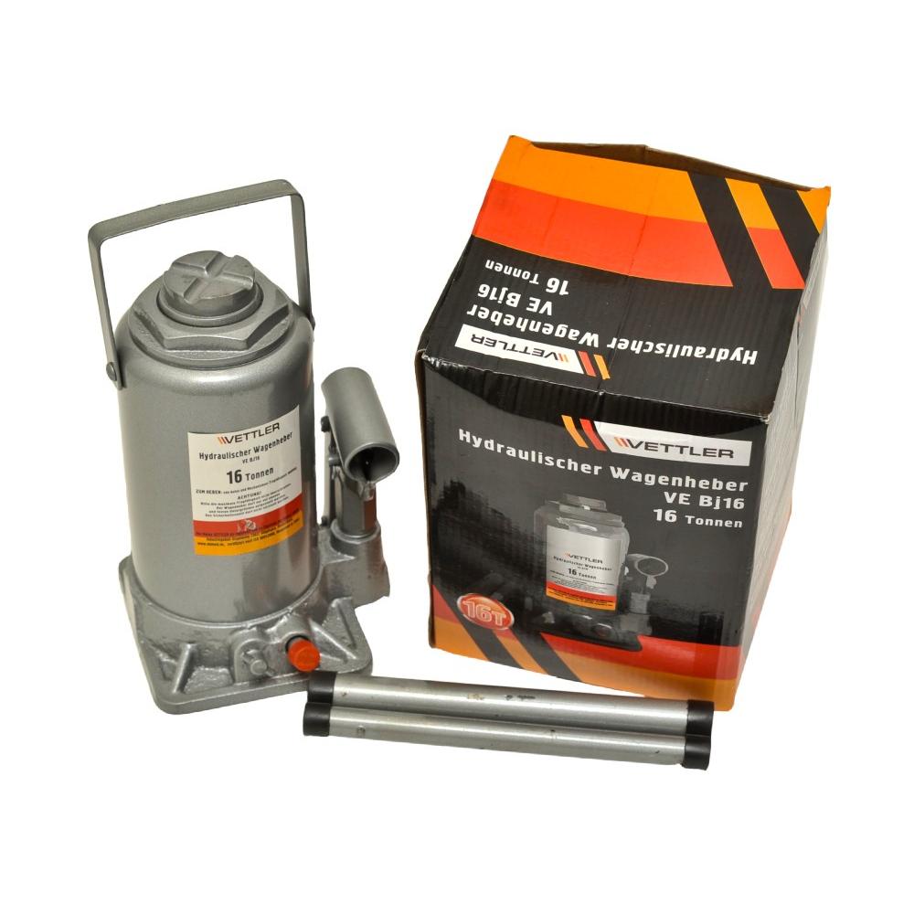 Купить Гидравлический бутылочный домкрат vettler 16 т, 225-425 мм vebj16