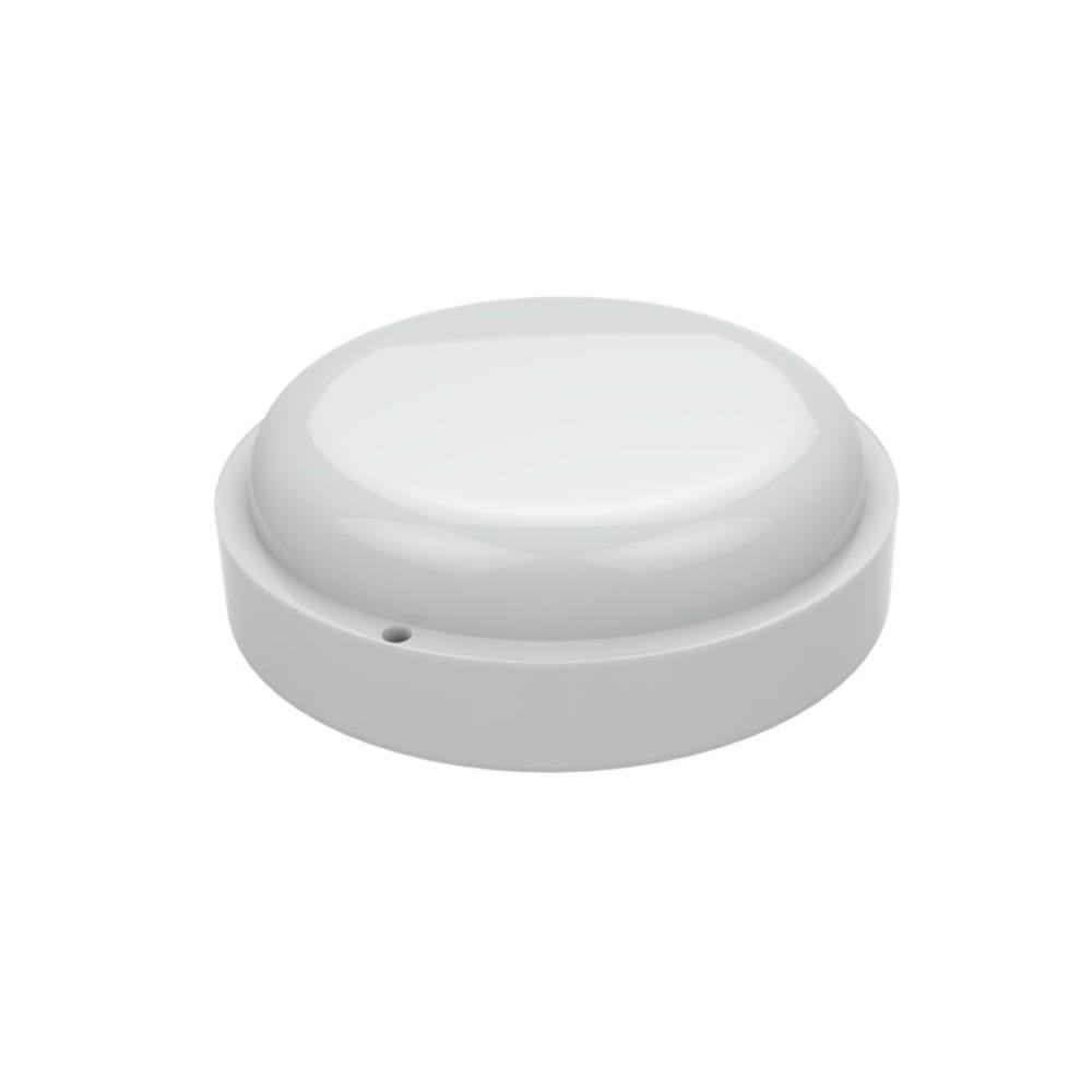 Светодиодный светильник gauss eco ip65 d160х53 12w круглый c сенсором 126418212-s