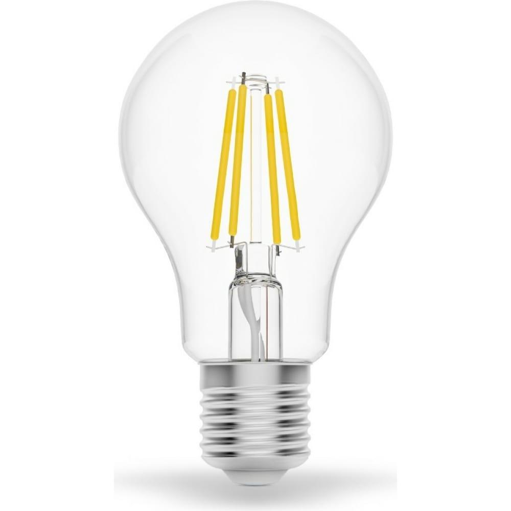 Купить Светодиодная филаментная лампа gauss smart home dim e27 a60 7вт 1/10/40 1200112