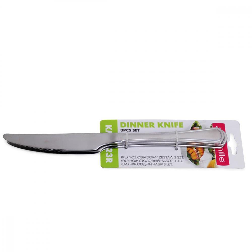 Купить Набор столовых ножей kamille 3 предмета из нержавеющей стали 5323r