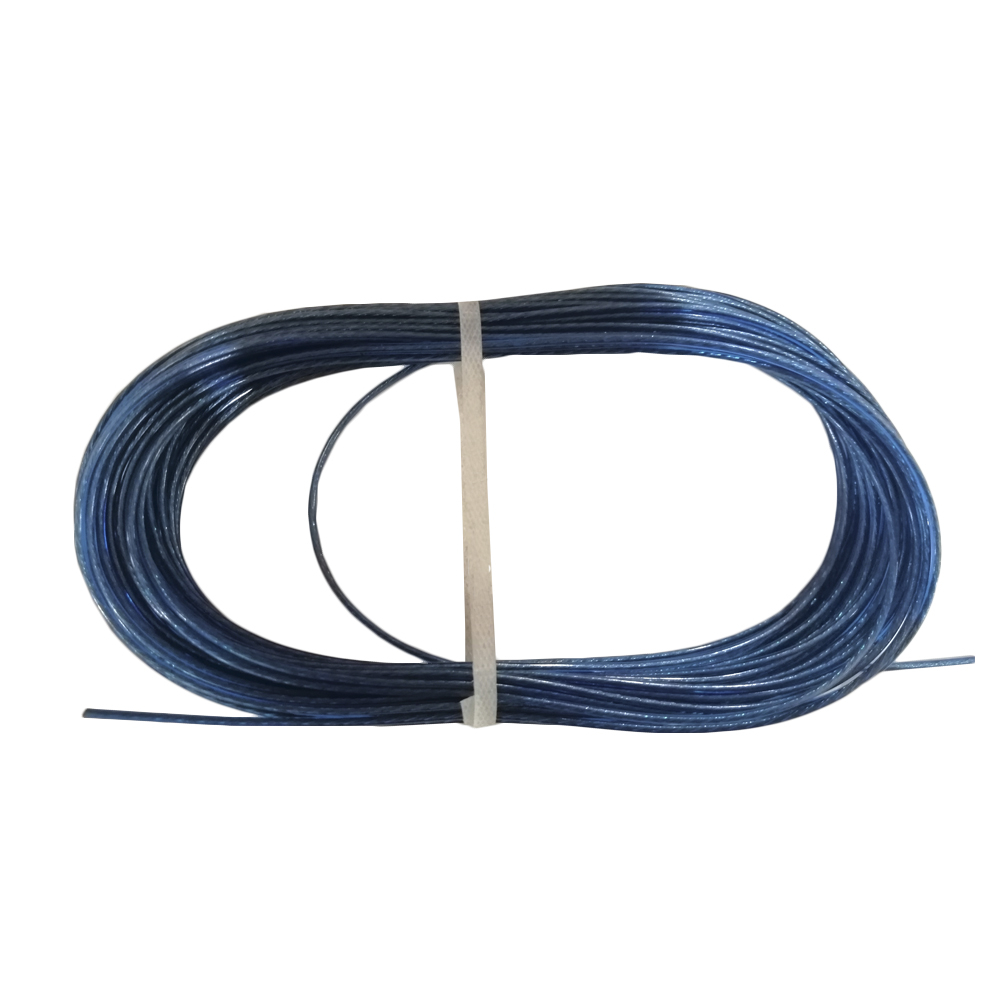 Купить Стальной латунированный трос с покрытием полиамид befast 2, погодоустойчивый, синий, 20м tco020bs