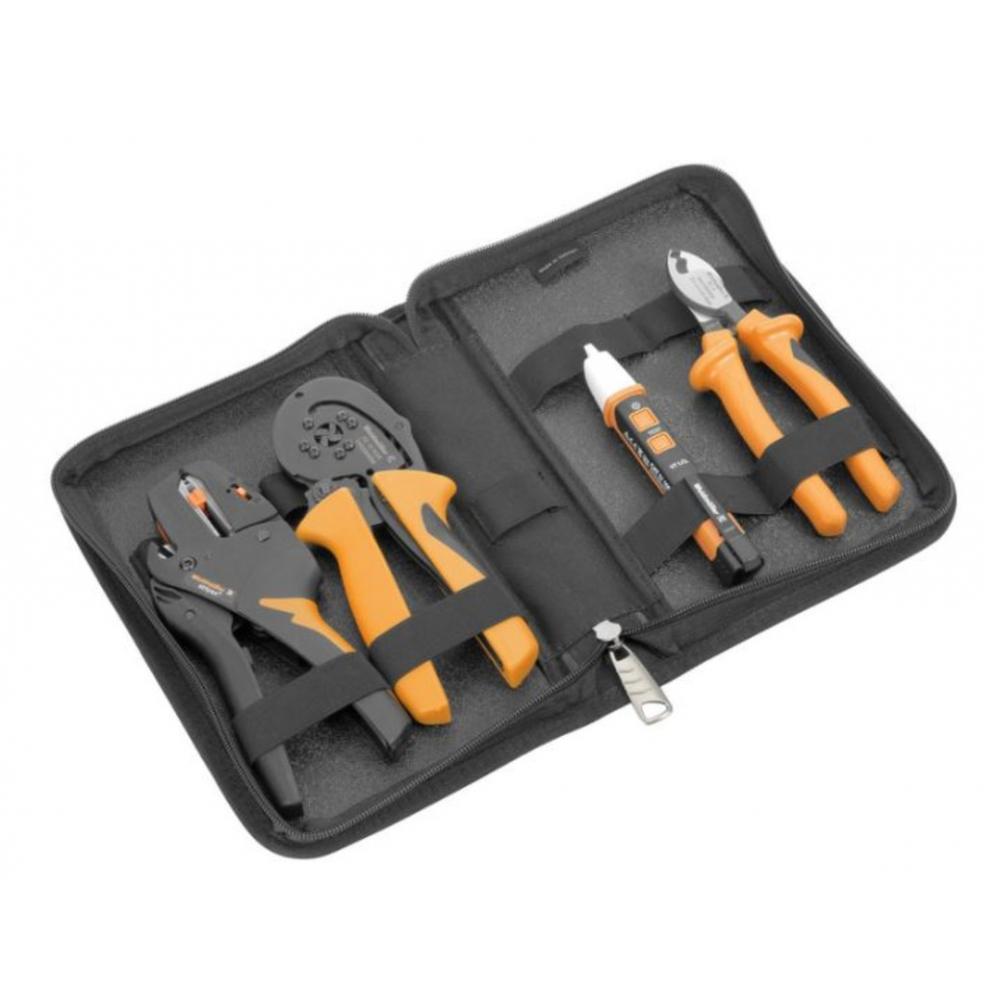 Набор электромонтажного инструмента weidmuller p bag set 6 2579450000