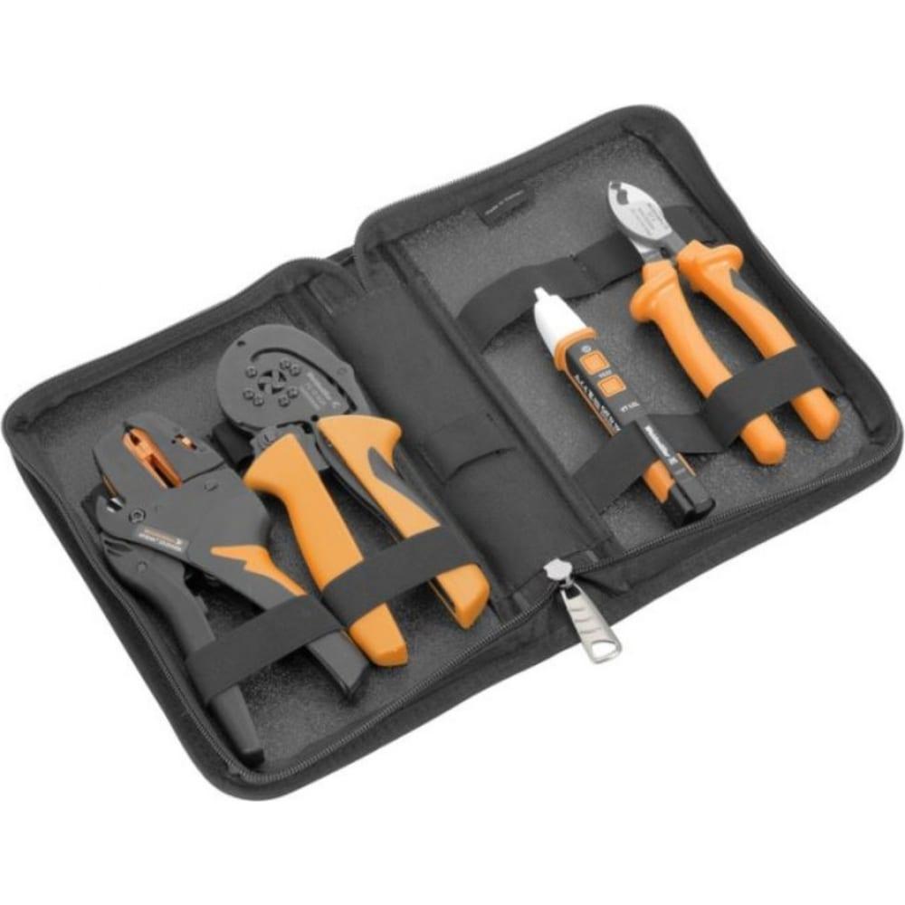 Набор электромонтажного инструмента weidmuller p bag set 10 2579490000