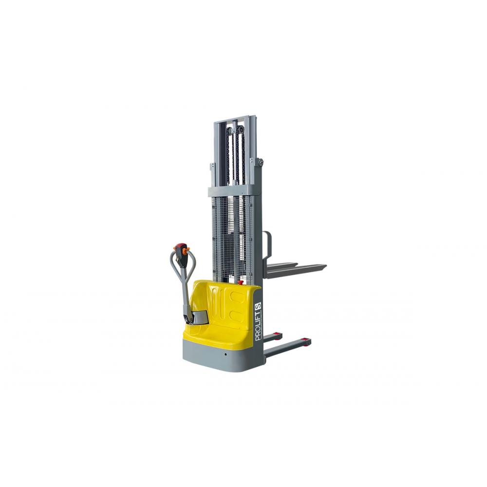 Самоходный штабелер pro lift нагрузка 1000 кг, 1600 мм, sdr1016s