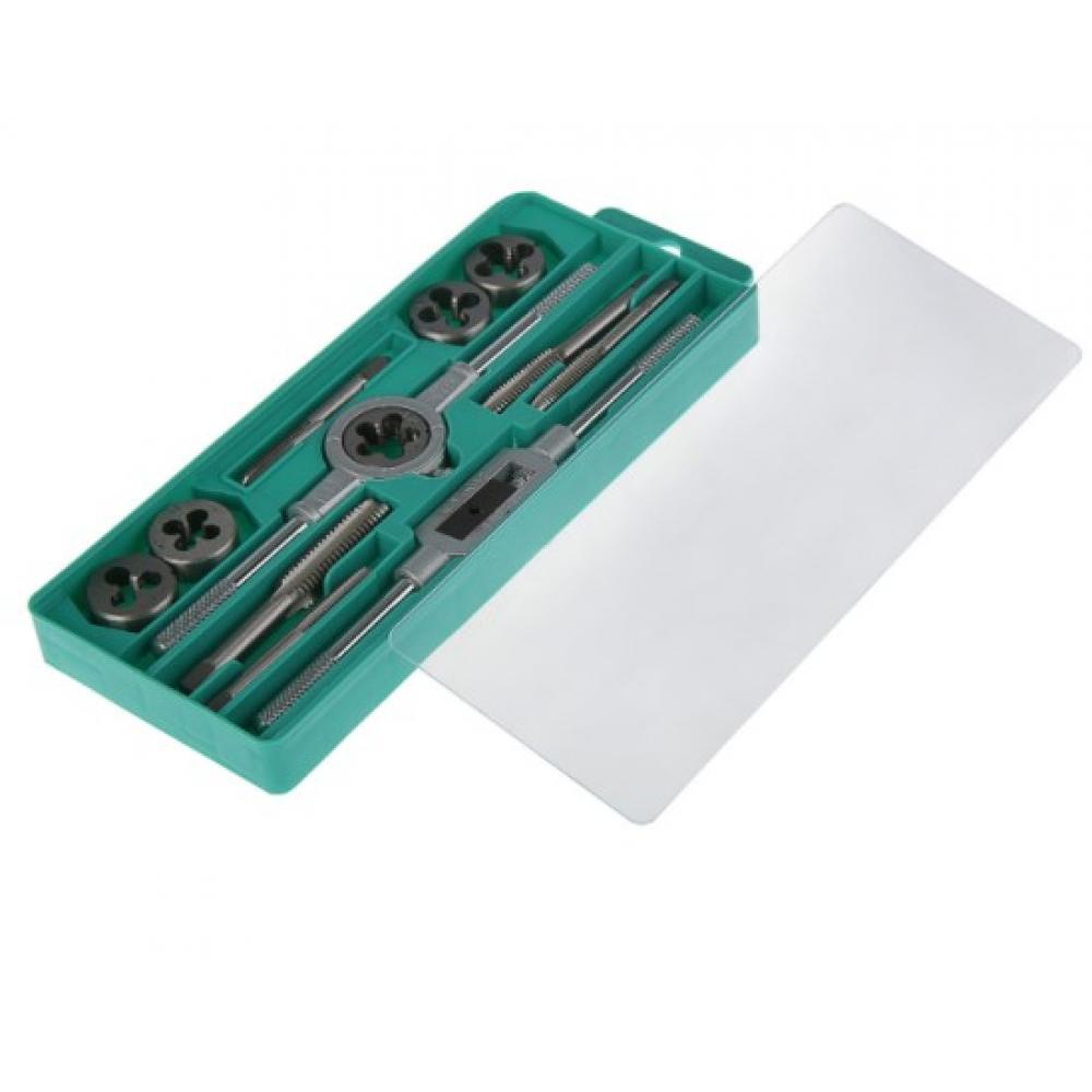 Купить Набор метчиков и плашек tundra м6 - м12, 12 предметов 2705960