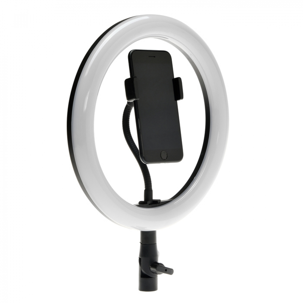 Купить Светодиодная лампа для селфи luazon ck-76, 10/26 см, 20 вт, 3 режима, работает от usb 4496821
