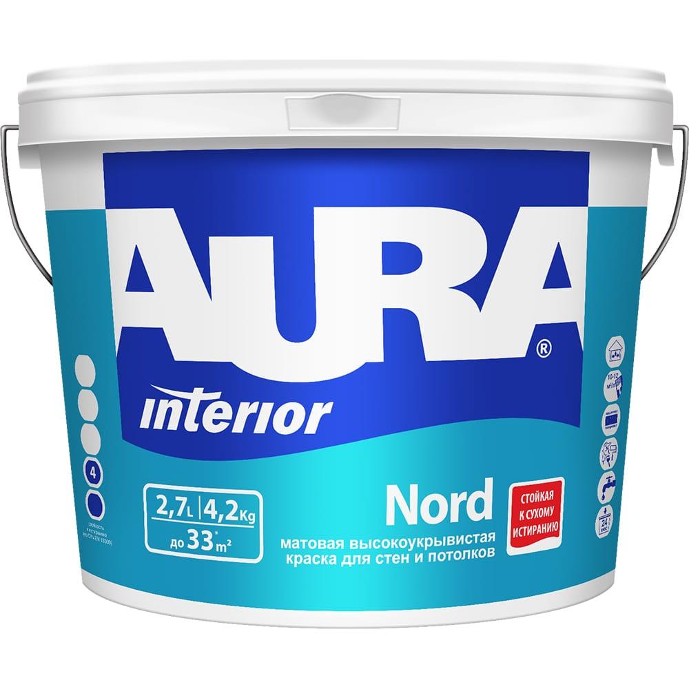 Краска aura nord 2,7л k0069