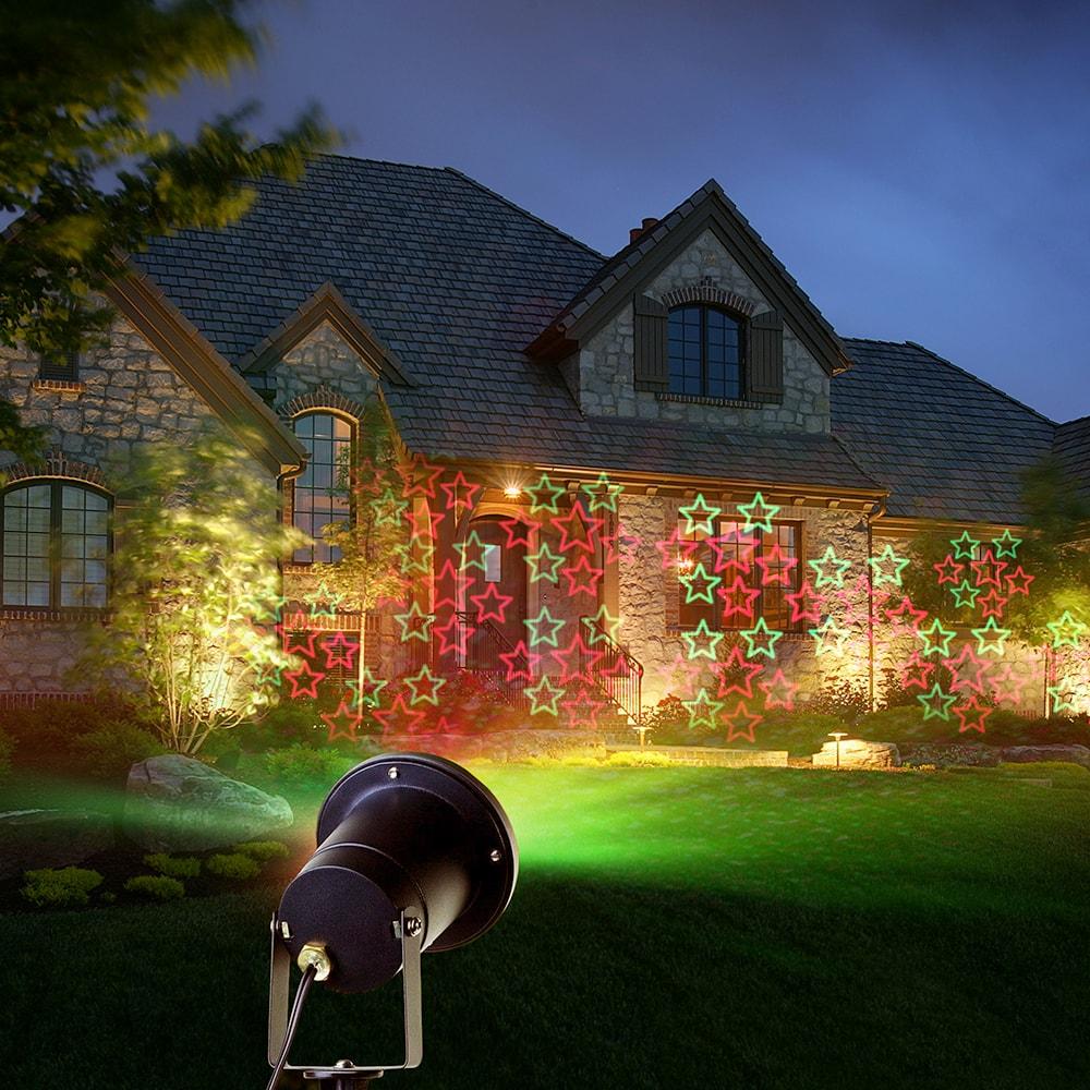 Лазерный проектор для улицы и дома vegas