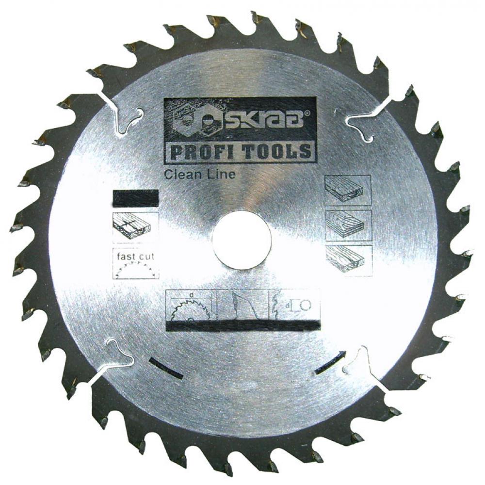Купить Диск пильный по дереву clean line (115х22.2 мм; 30т) skrab 34113