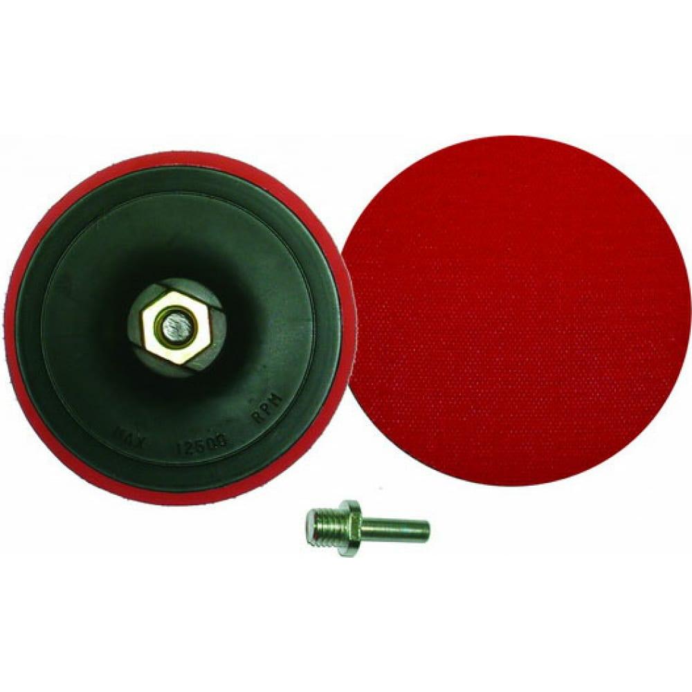 Купить Диск шлифовальный тонкий с липучкой (125 мм; м14х2) для ушм и дрели skrab 35707