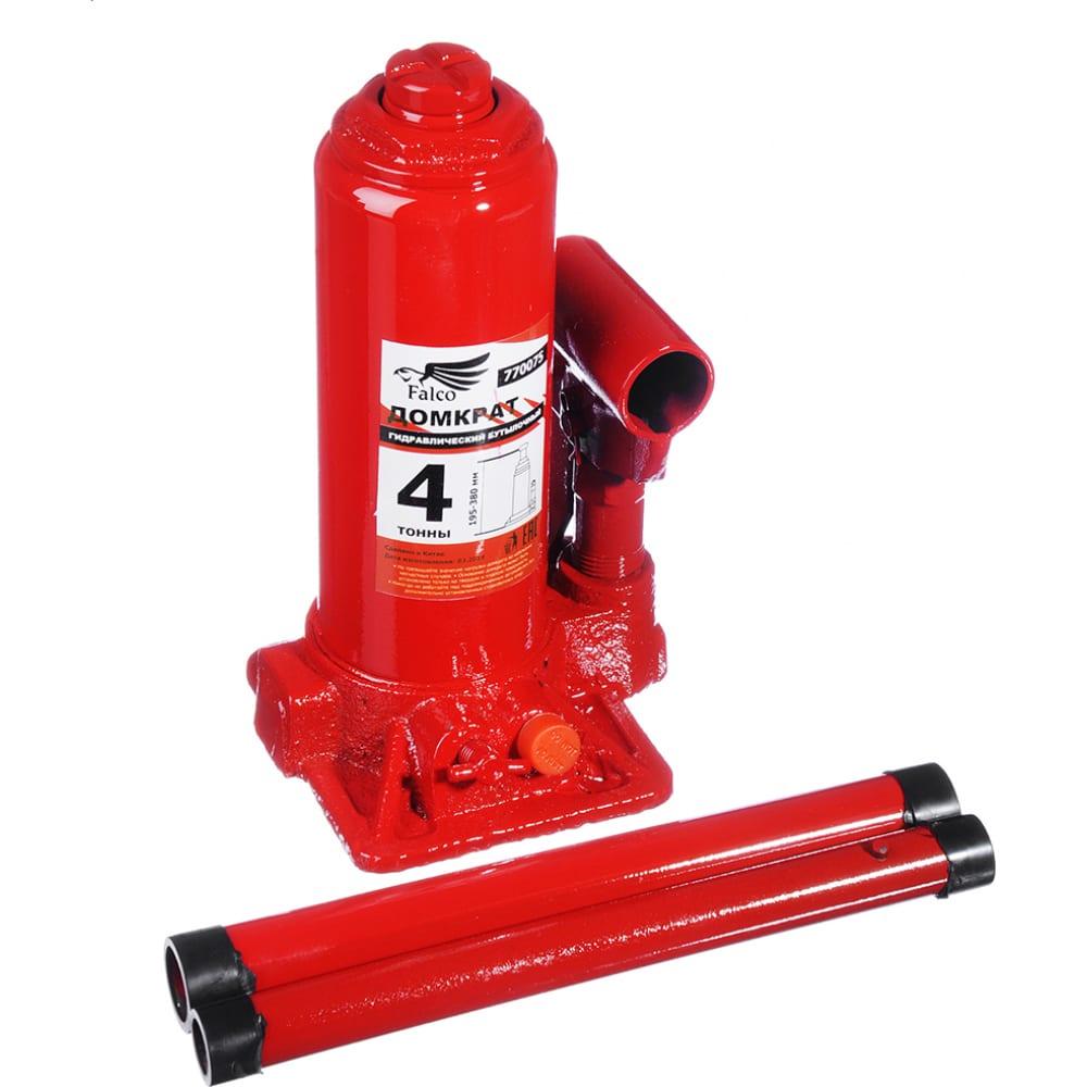 Купить Гидравлический бутылочный домкрат falco 4 т, 195-380 мм 770-075