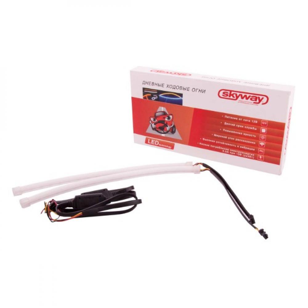 Купить Ходовые огни skyway 12v 330 smd 2 шт с поворотом s08501032