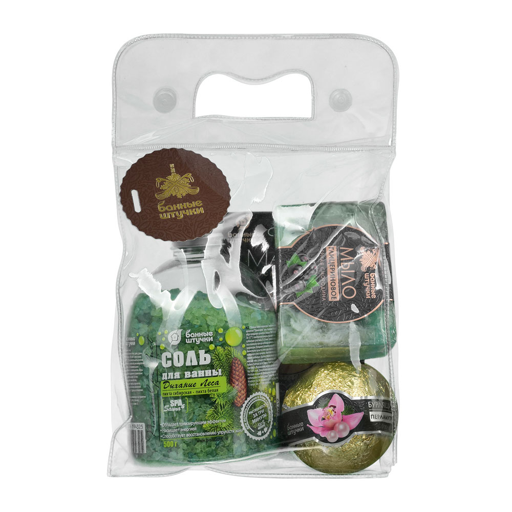 Купить Подарочный набор банные штучки 4 предмета 41400