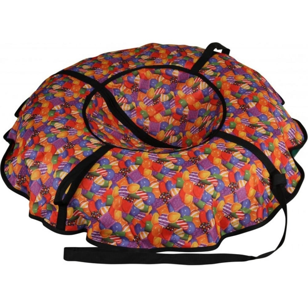 Купить Санки-ватрушка репка с рисунком d-0.75 15506
