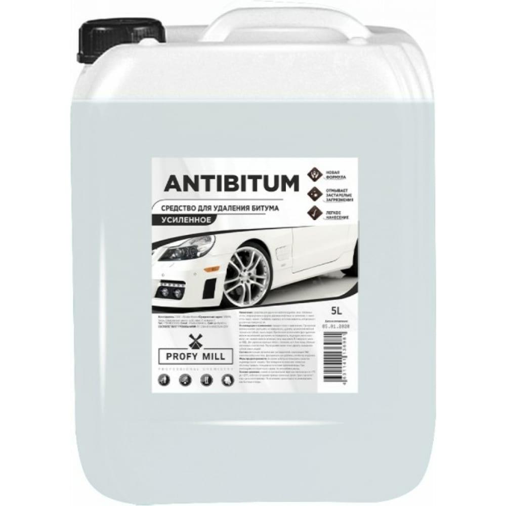 Очиститель битумных пятен profy mill antibitum 5л