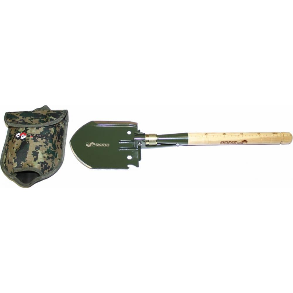 Купить Саперная лопата skrab мульти 9 функций дерево ss 28439