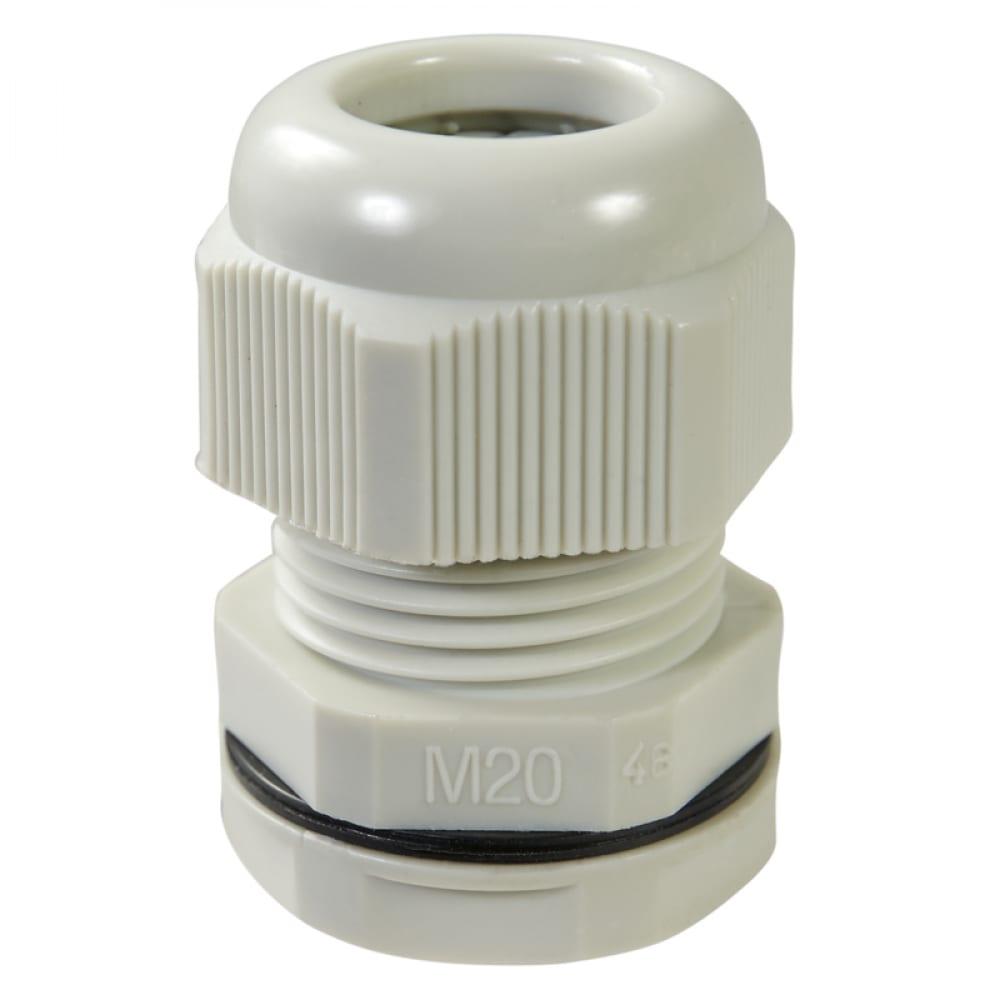 Купить Кабельный ввод haupa ip68, m20, цвет серый, упаковка 10шт. 250046