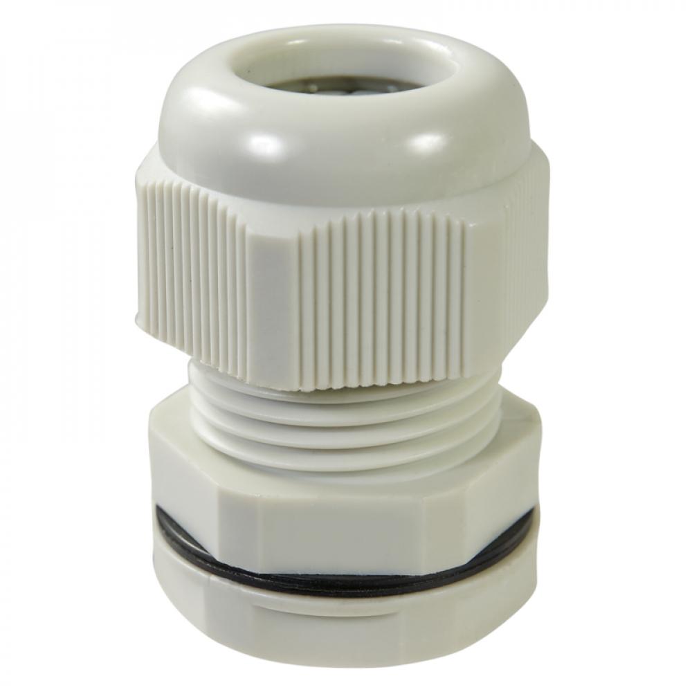 Купить Кабельный ввод haupa ip68, pg7, цвет серый, упаковка 10шт. 250060