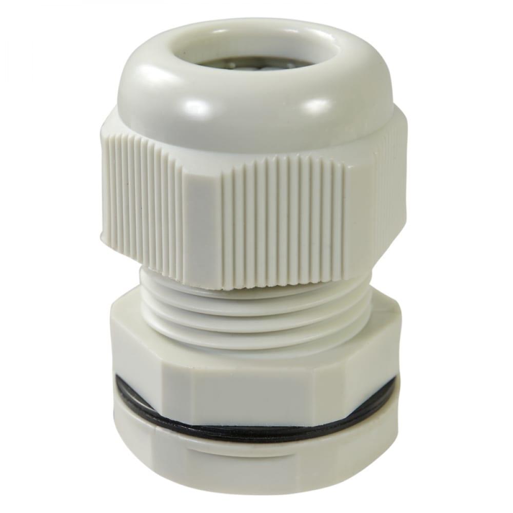 Купить Кабельный ввод haupa ip68, pg16, цвет серый, упаковка 10шт. 250068