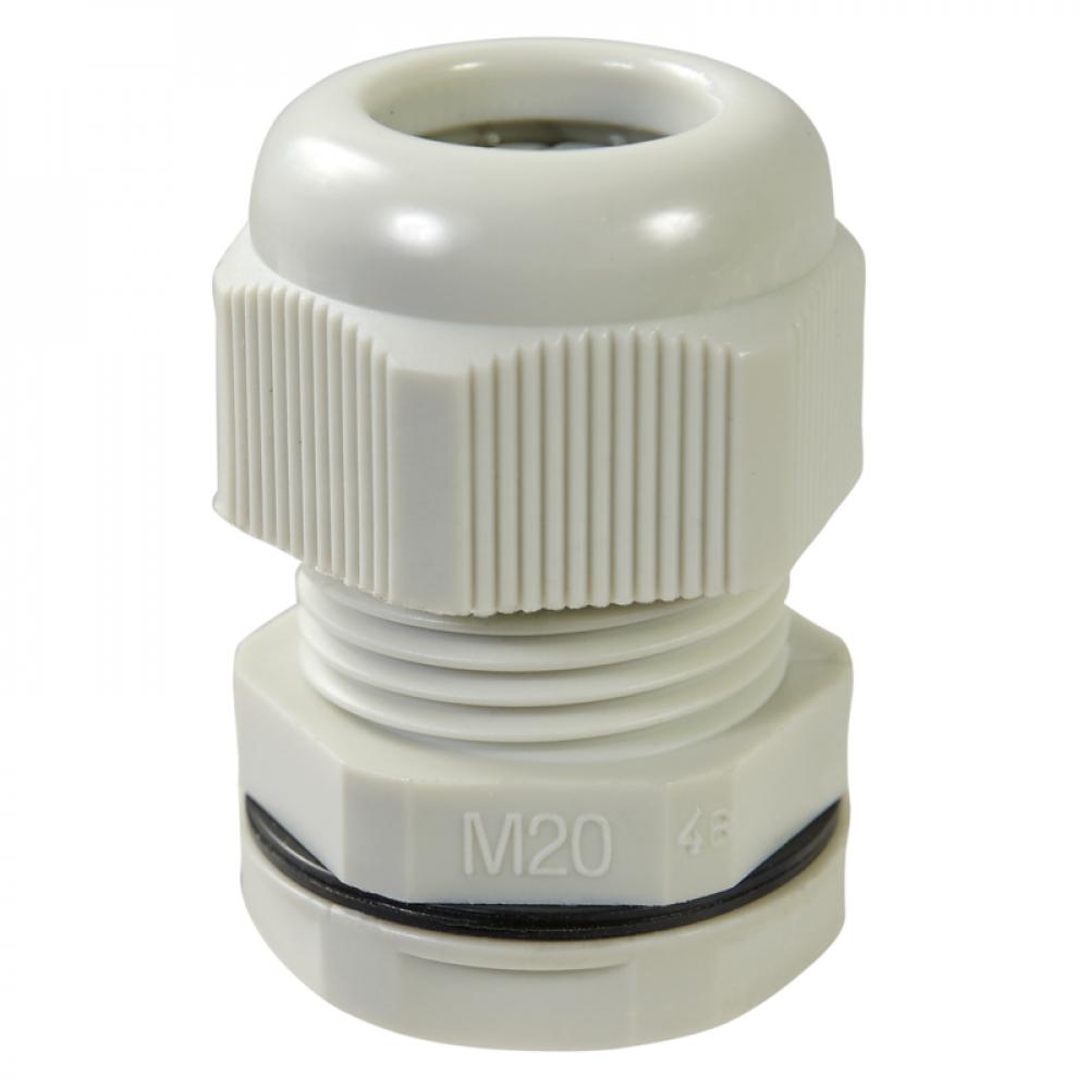 Купить Кабельный ввод haupa ip68, pg11, цвет серый, упаковка 10шт. 250064