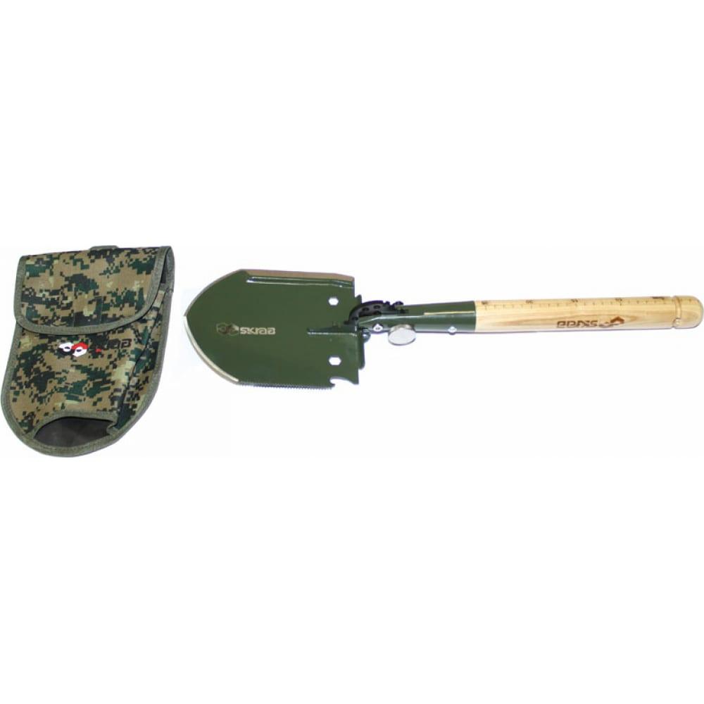 Купить Саперная лопата skrab мульти 12 функций дерево ss 28440