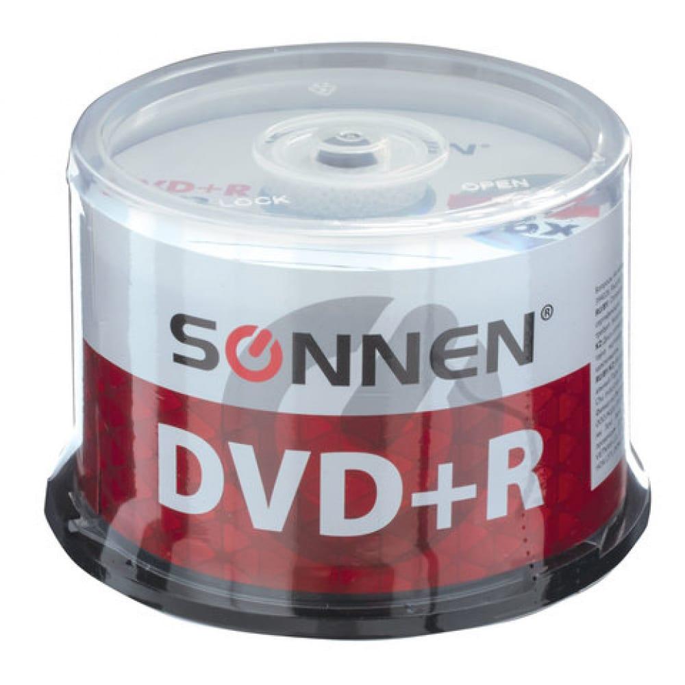 Диски sonnen диски dvd+r плюс 4.7gb