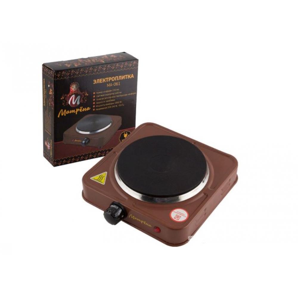 Купить Электроплитка матрёна ма-061, коричневый, блин 006057