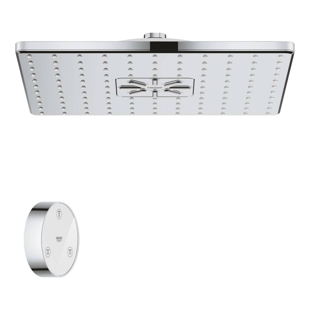 Купить Верхний душ grohe rainshower 310 smartconnect digital 2 режима, ecojoy 9.5 л/мин + пульт управления 26643000