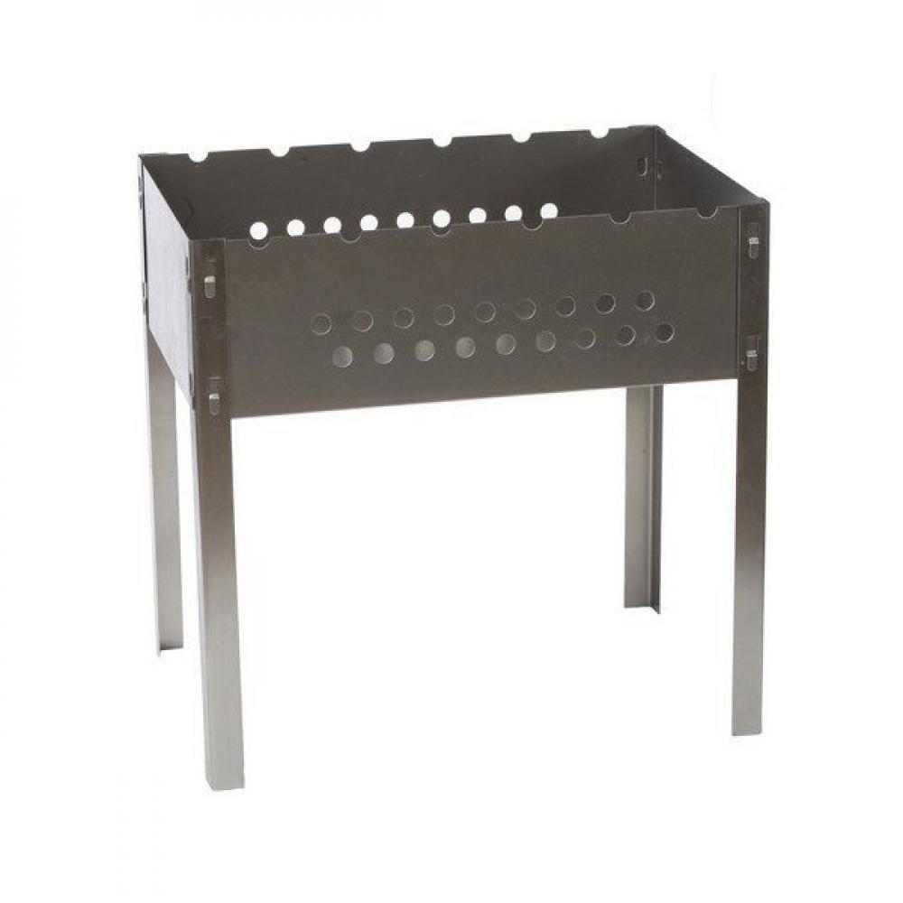 Мангал pikmeister стандарт без шампуров, 500х300х500мм 3910