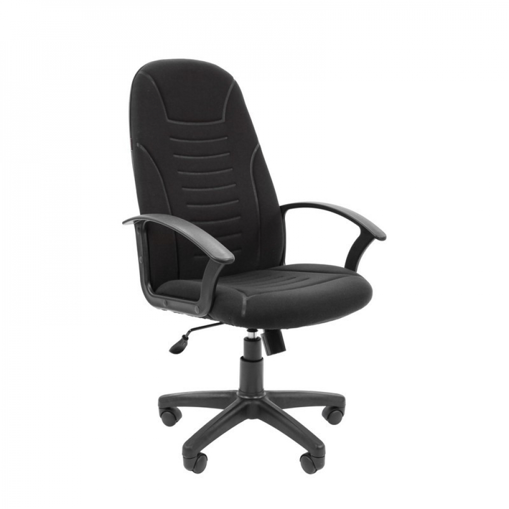 Купить Кресло easy chair vtechair-640 tс ткань черная, пластик 803386