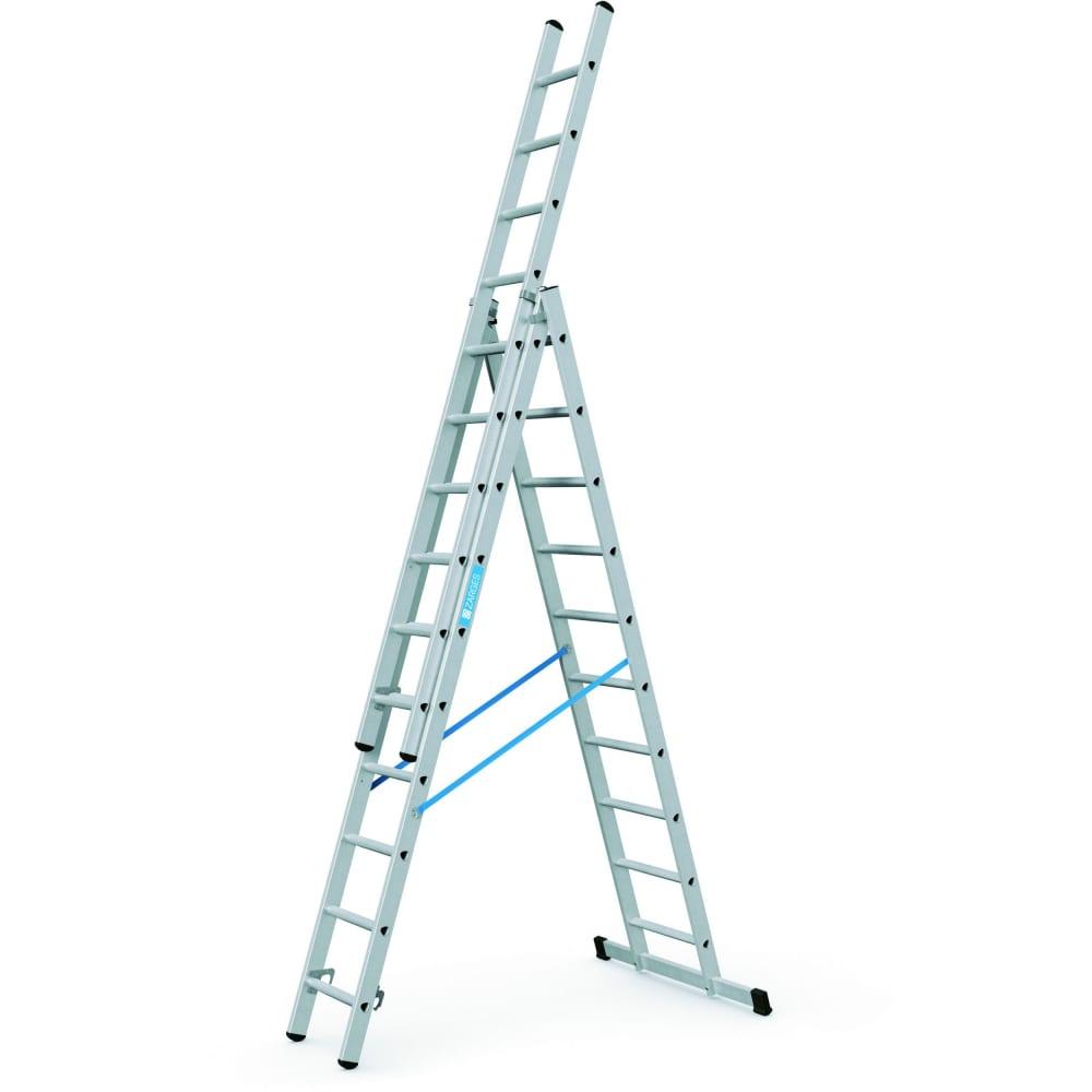 Трехсекционная лестница zarges 3x11 49311