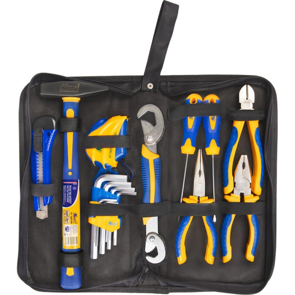 Купить Набор инструмента kraft 18 предметов, сумка kt 703023