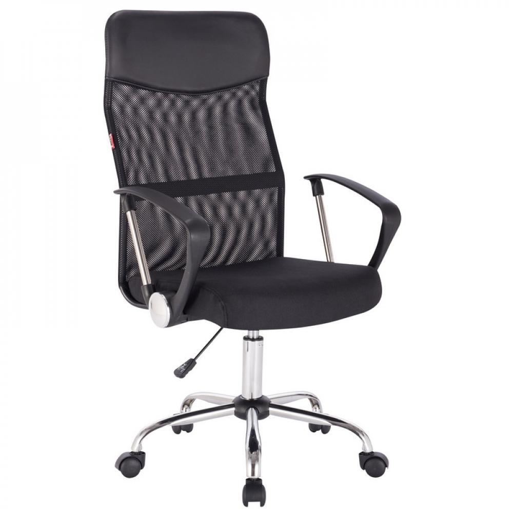 Купить Кресло easy chair bnspechair-588 tpu сетка/ткань/кожзам черный, хром 1114736