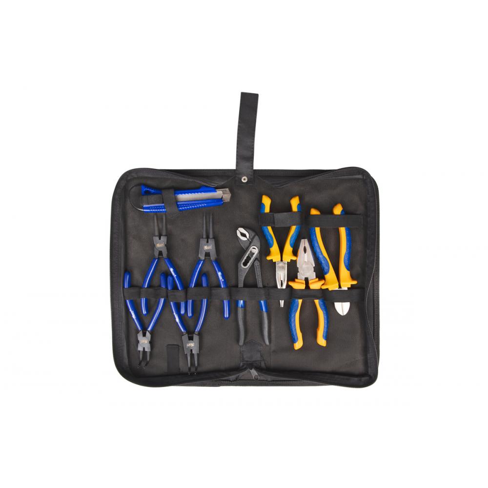 Купить Набор шарнирно-губцевого инструмента kraft 9 предметов сумка kt 703021