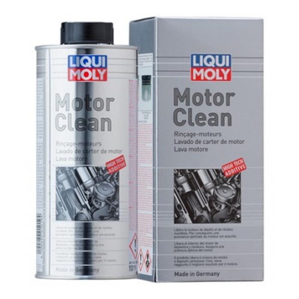 Промывка масляной системы двигателя liqui moly motorclean