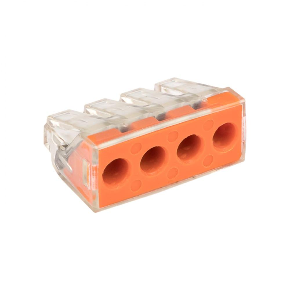 Клемма ekf смк proxima 773-174, 4 отверстия, 2.5-6.0мм2 plc-smk-773-174r
