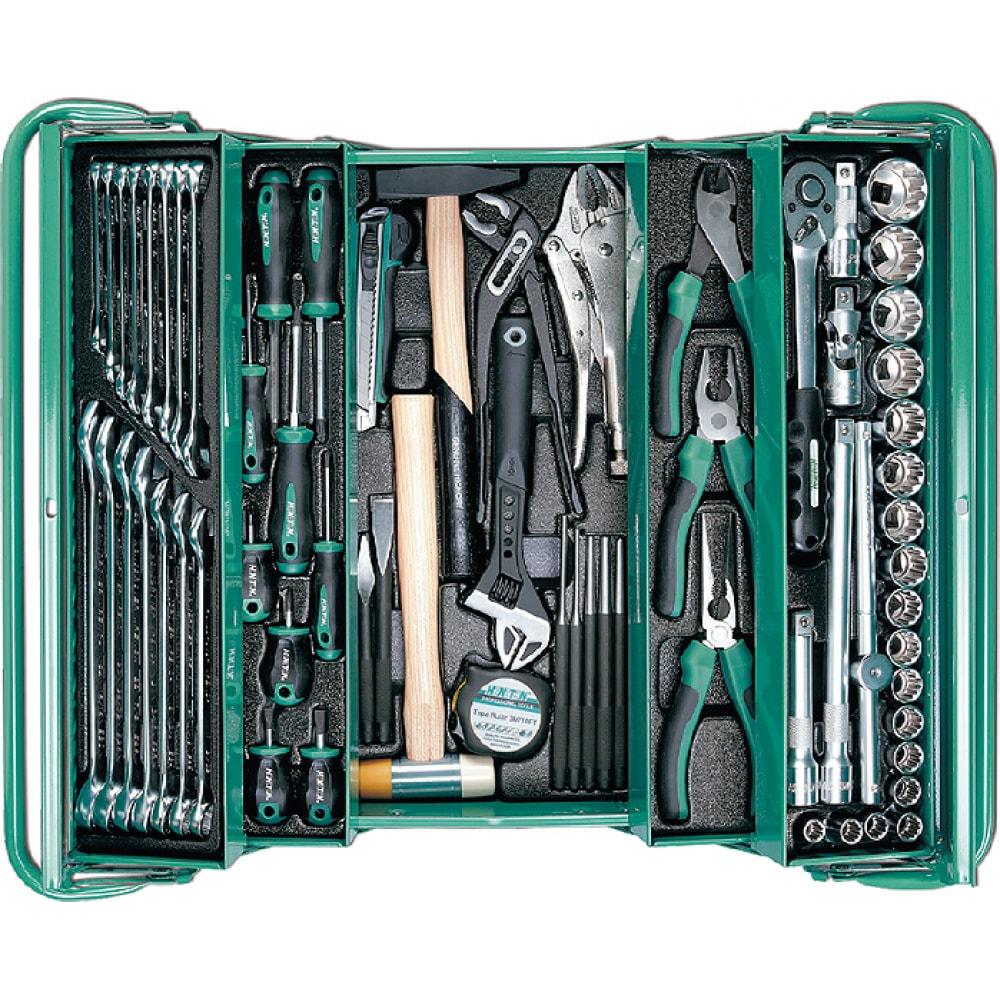 Купить Набор инструмента honiton в металлическом ящике 68 предметов ik-106