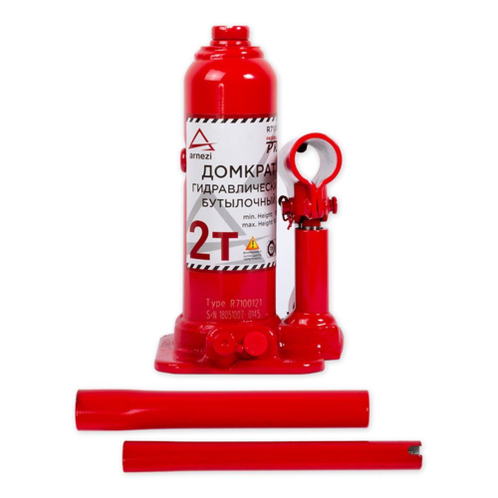 Купить Гидравлический бутылочный домкрат в кейсе arnezi pro 2 т, 181-344 мм 00-01040534
