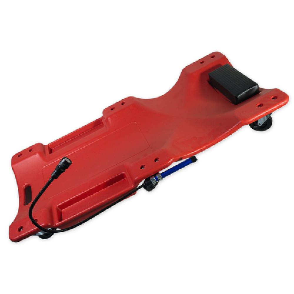 Купить Ремонтный лежак arnezi подкатной 6 колес 1010x475x130мм пластиковый 00-01118728