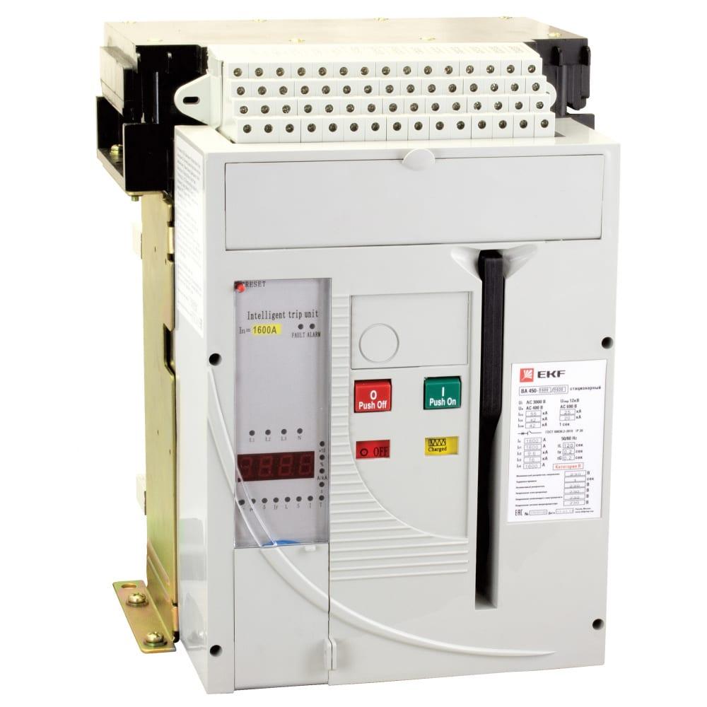 Купить Автоматический выключатель ekf ва-450 1000/1000а, 3p, 50ка, стационарный proxima mccb450-1000-1000