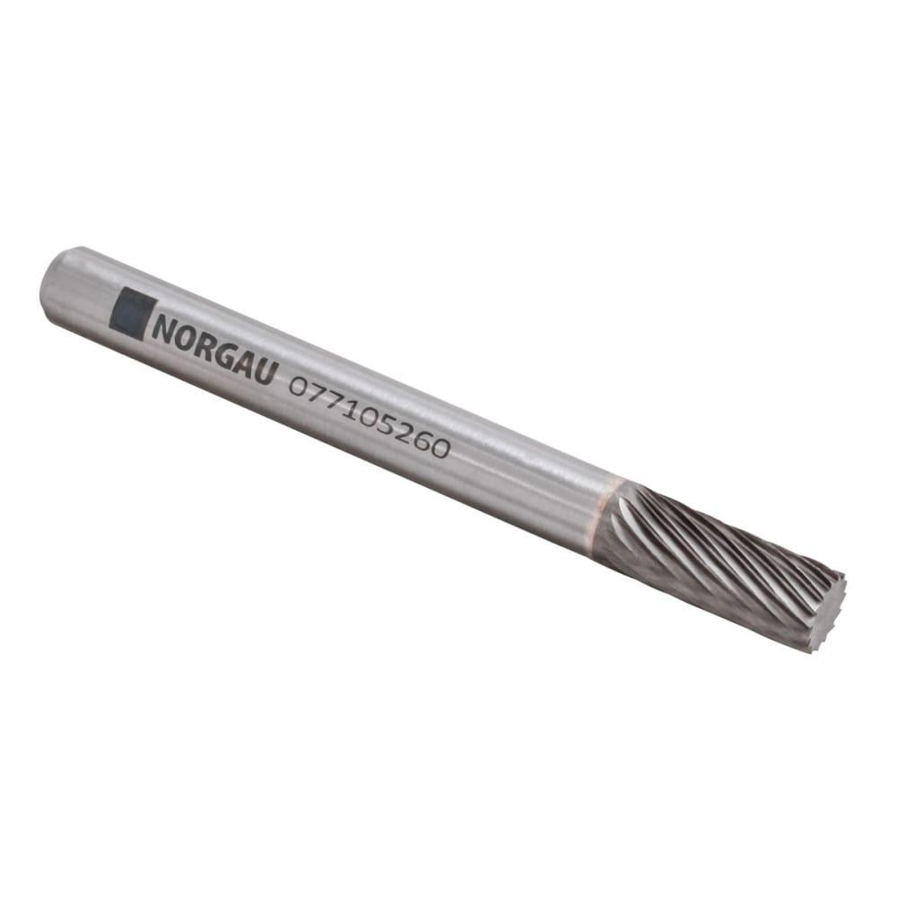 Купить Борфреза твердосплавная форма a цилиндрическая с гладким торцем scm hm a0616m06-45 (6х16х6х55 мм) norgau 077105260
