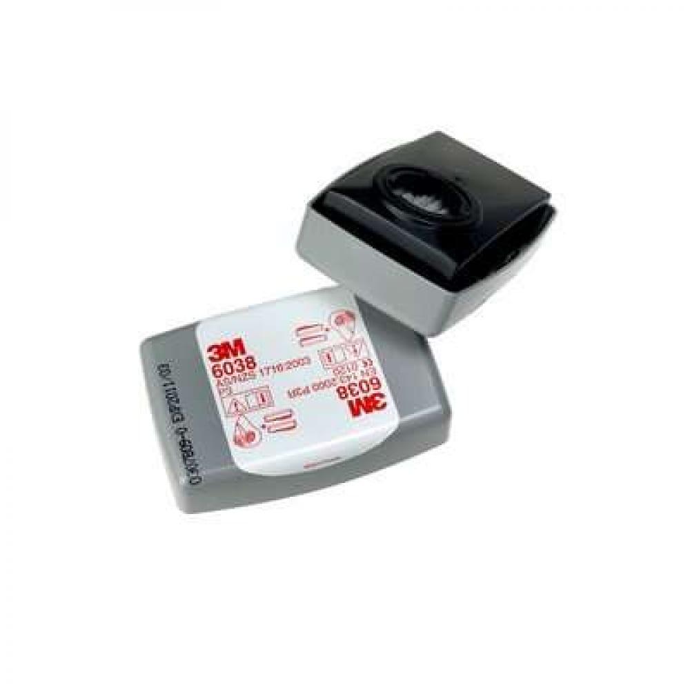 Купить Противоаэрозольный фильтр 3м модель 6038, роз, 2 шт./уп., 7000059883