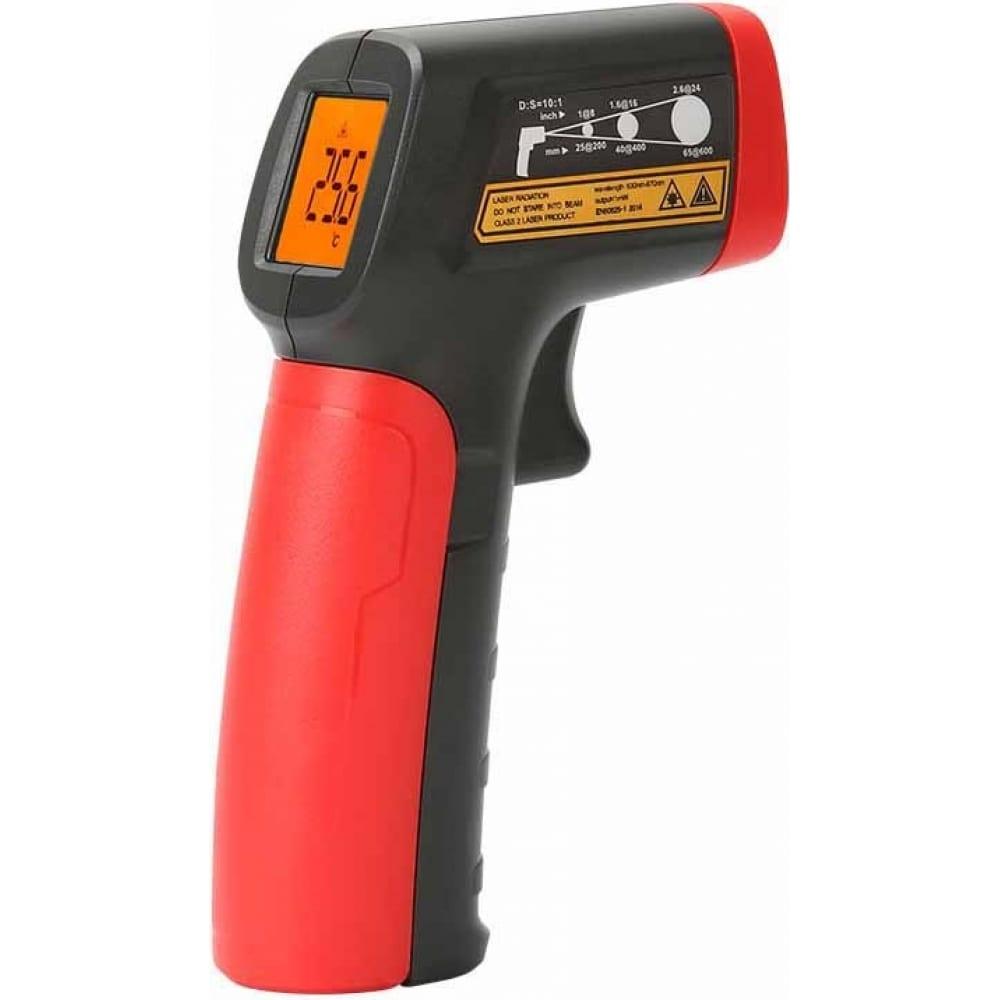 Цифровой инфракрасный термометр-пирометр uni-t ut300a+, -20c/+400c, 00-00004258
