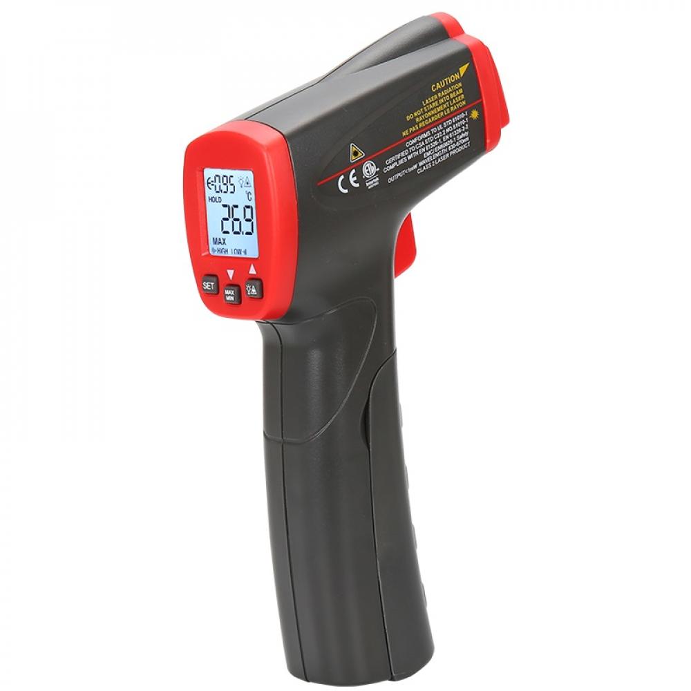 Инфракрасный цифровой термометр-пирометр uni-t ut300s, -32c/+400c, 00-00004259