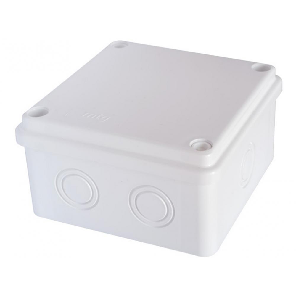 Распаячная влагозащищенная коробка mtg настенная 100x100x50 с болтами ip65 31394